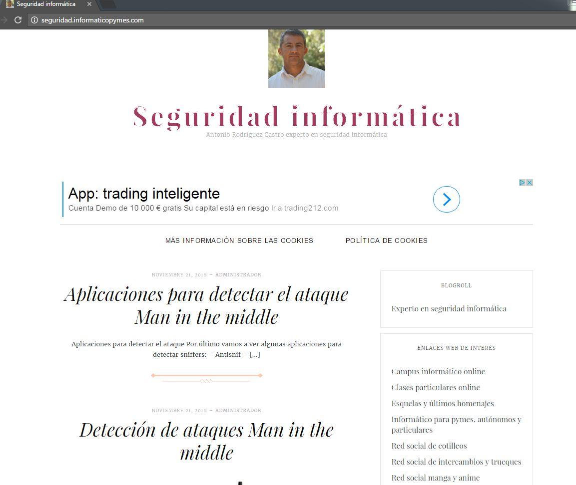 Blog de seguridad informática