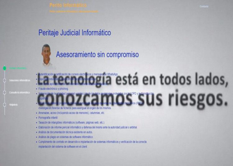 Perito Informático y Electrónica Forense Profesional